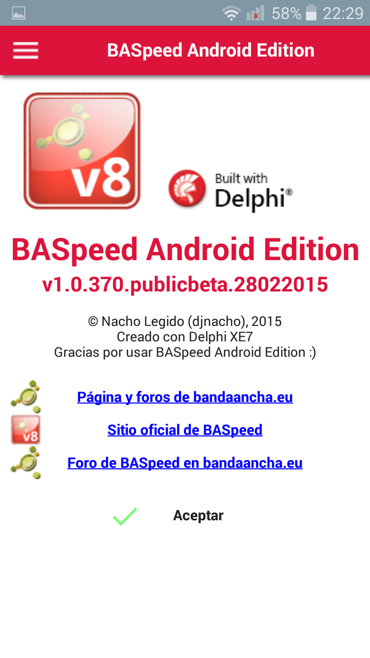 BASpeed Android Edition