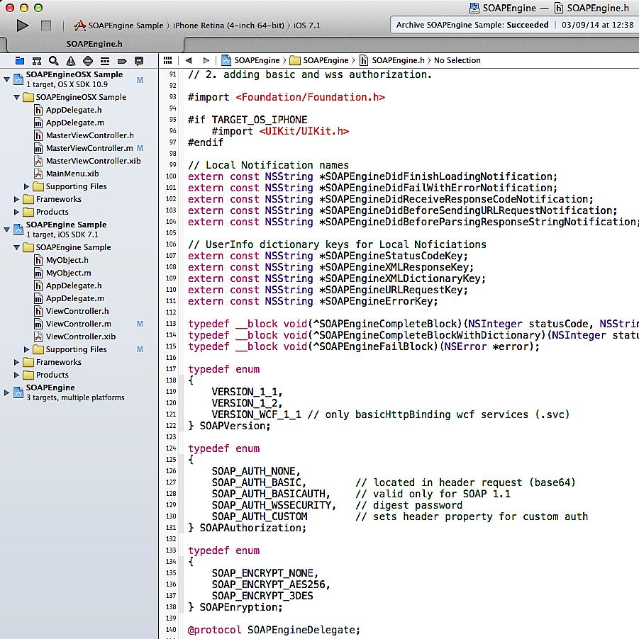 SOAPEngine Framework