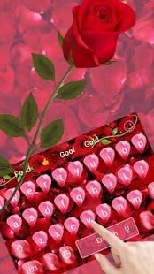 Rose petal keyboard