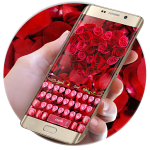 Rose petal keyboard