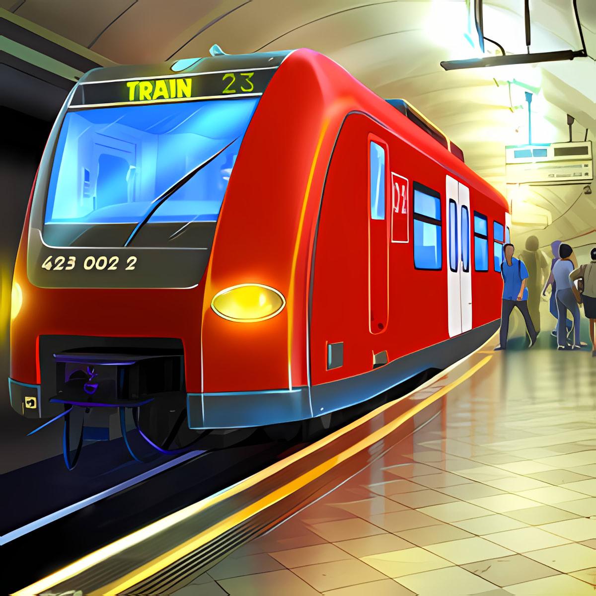 Passenger Train Driving 1.1