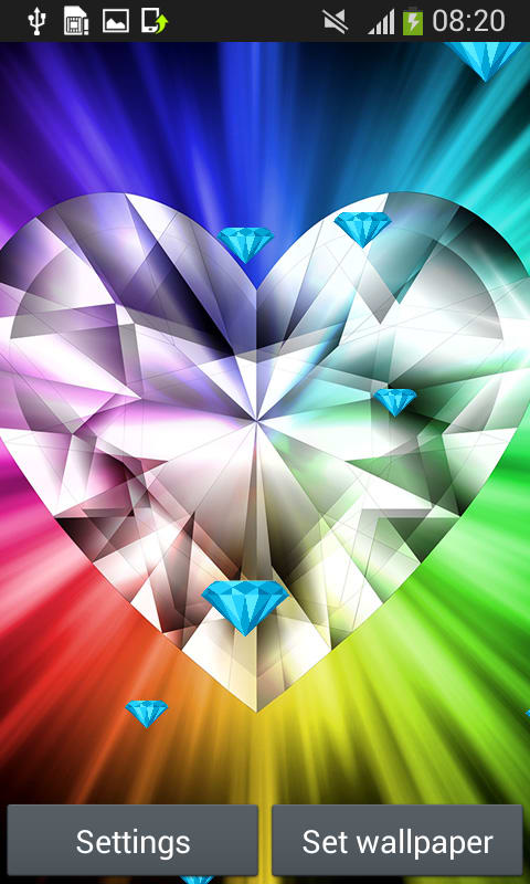 Diamond Live Wallpapers