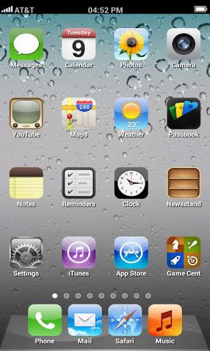 iPhone lock Screen Theme