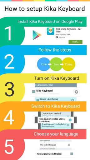 Scorpio Emoji Keyboard Colors