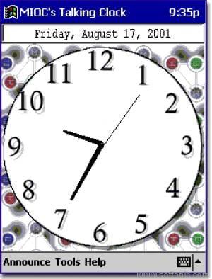 MIOC's Talking Clock
