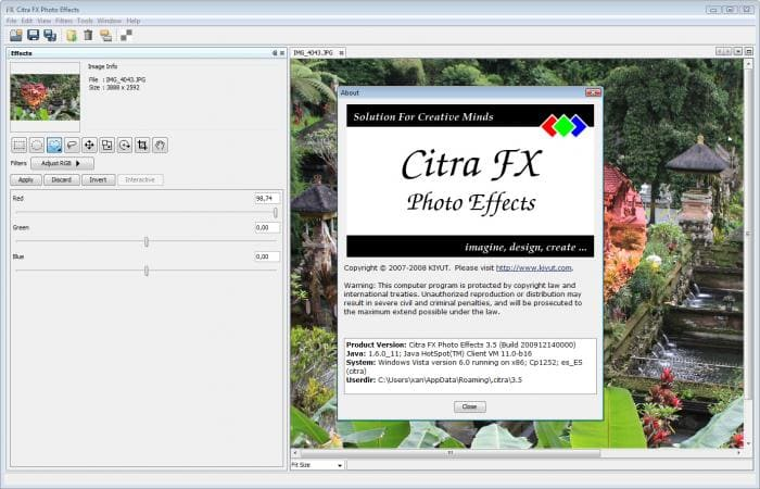 Citra FX Photo Effects