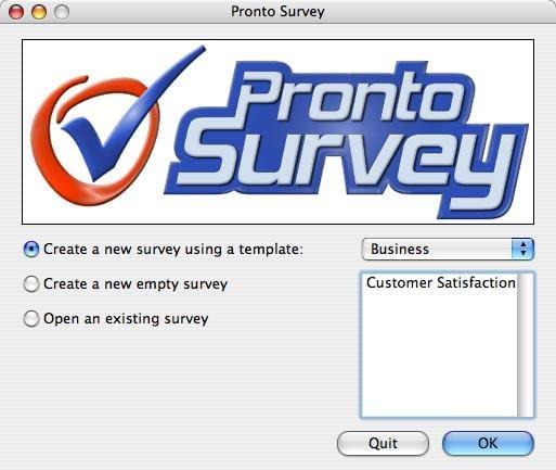 Pronto Survey