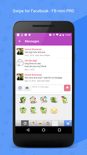 New Messenger for Facebook