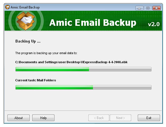 Amic Email Backup