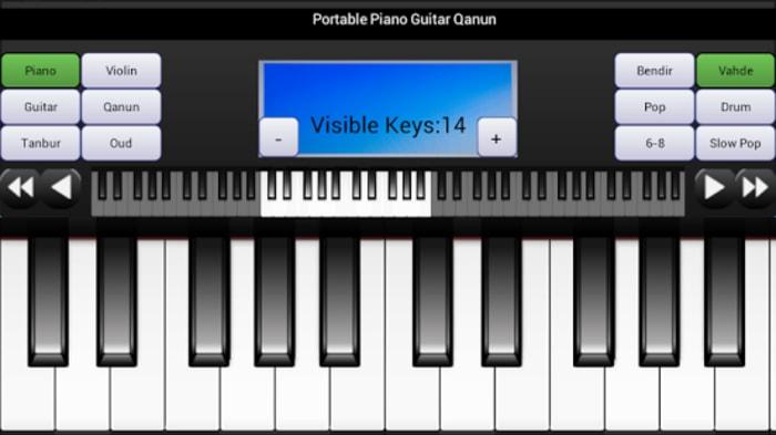 Portable Piano Guitar Qanun