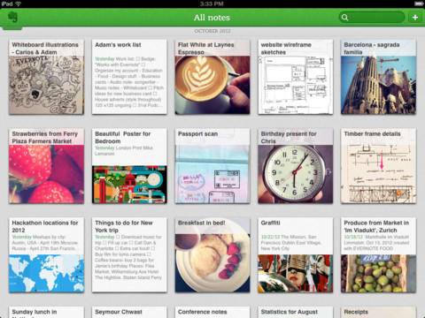 Evernote for iPhone 7.5.0