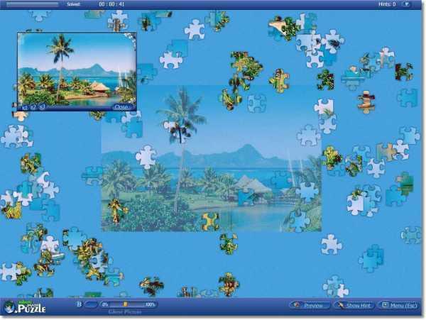 Infinite Jigsaw Puzzles