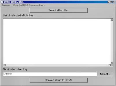 SAFKAS ePub 2 HTML