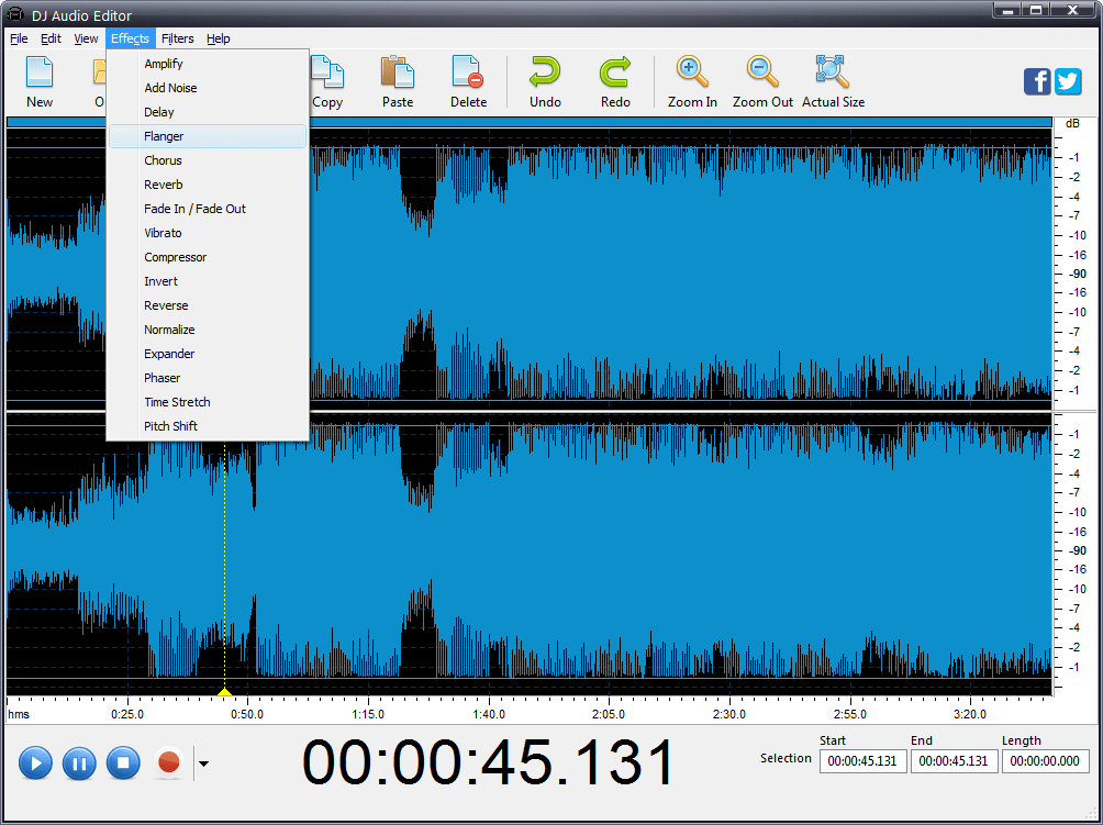 DJ Audio Editor