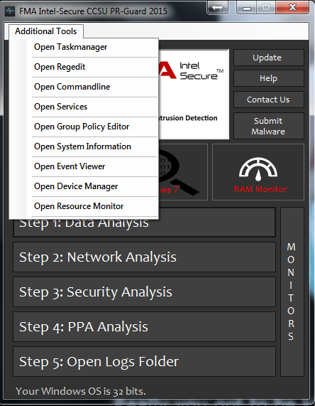 FMA Intel-Secure (CCSU PR-Guard) 2015