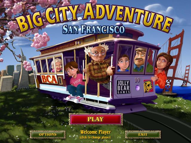 Big City Adventures - San Francisco