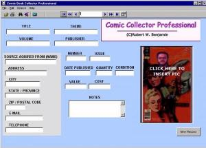 Comic Collector Professional