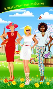 vestido de moda de primavera