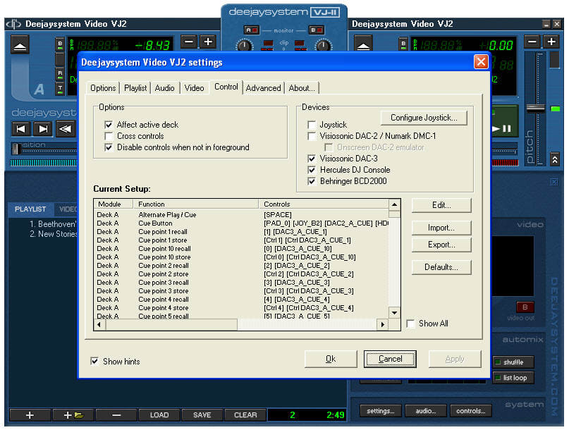 Deejaysystem Video VJ-II