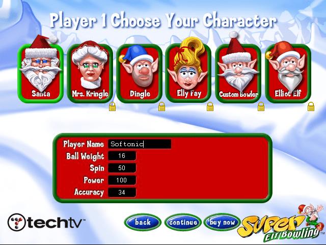 Super Elf Bowling