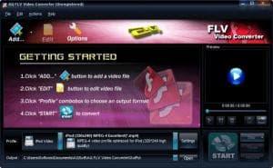 AQ FLV Video Converter