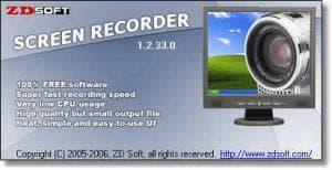 ZD Soft Screen Recorder