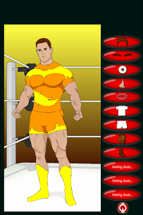Crear un luchador (Dress Up)