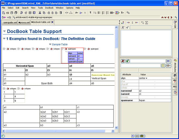 XMLmind XML Editor