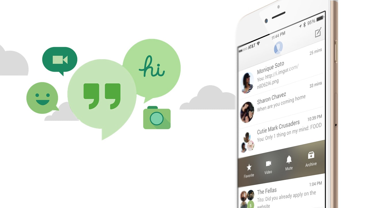 how to download videos from hangouts