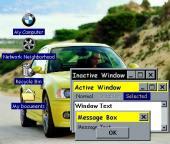 BMW M3 desktop theme