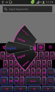 Teclado de color para Android