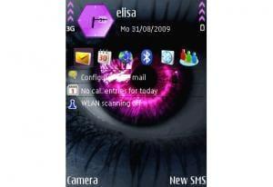 Purple Eye Theme