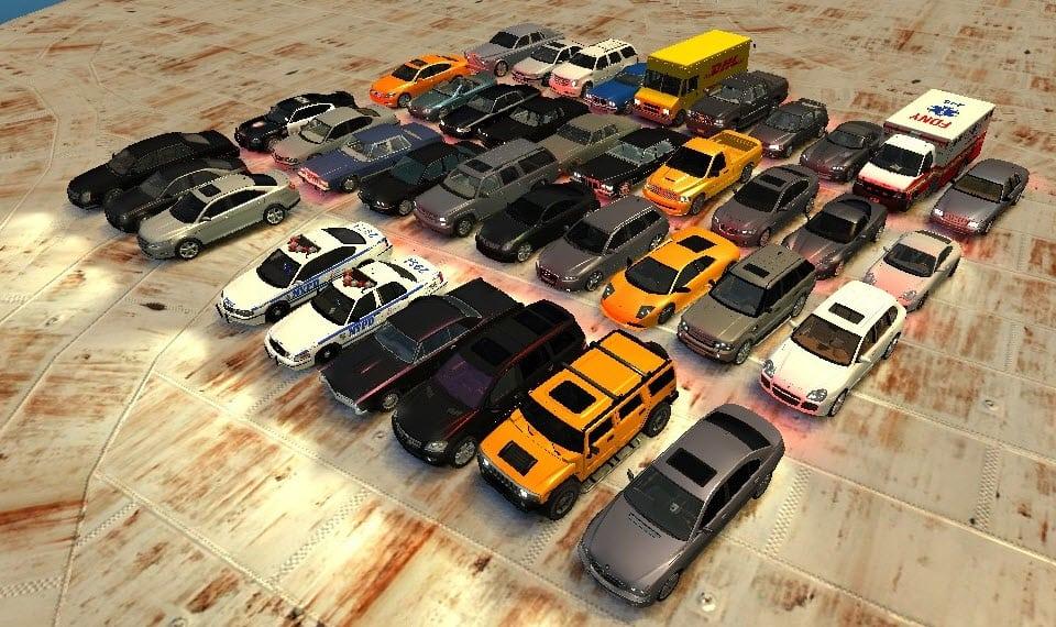 GTA IV Ultimate Vehicle Pack