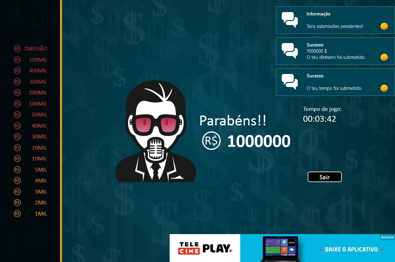 Show do Milhão para Windows 10