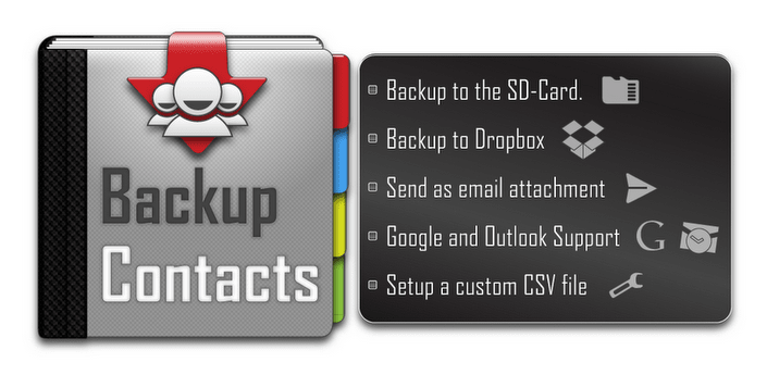 Backup Contacts 0.9.3