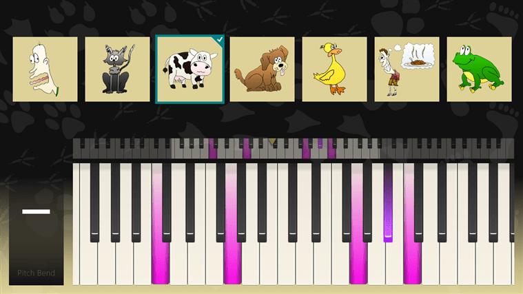 Biological Piano voor Windows 10
