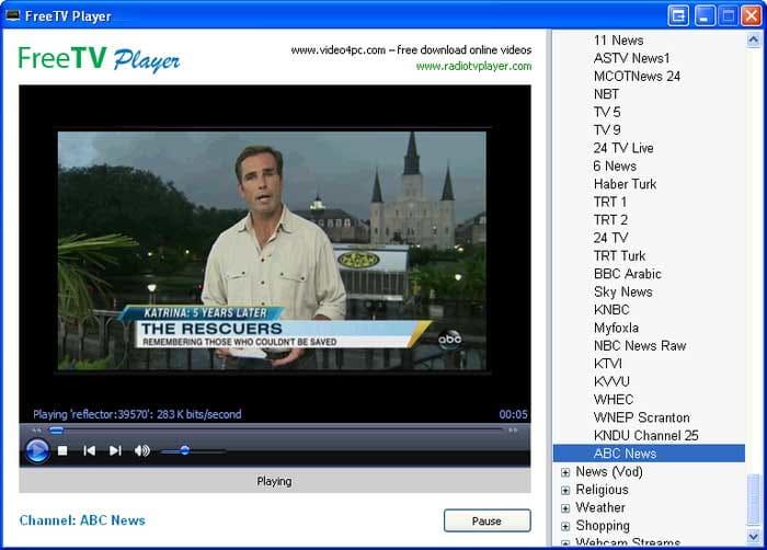 FreeTV Player