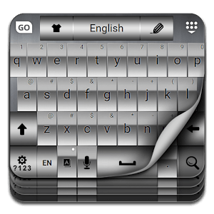 GO Plata Keyboard Theme