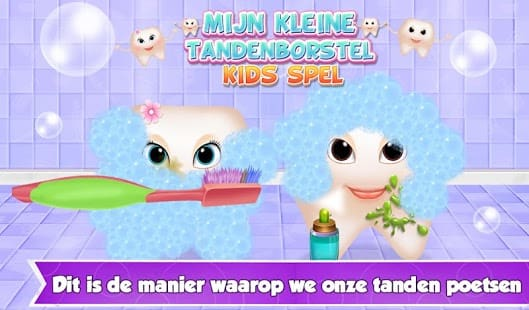 My Little Toothbrush Kids Game