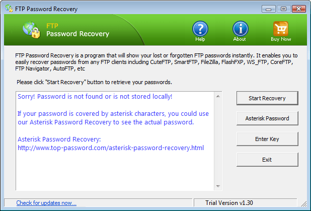 FTP Password Recovery
