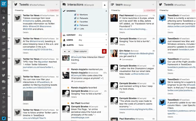 TweetDeck para Chrome