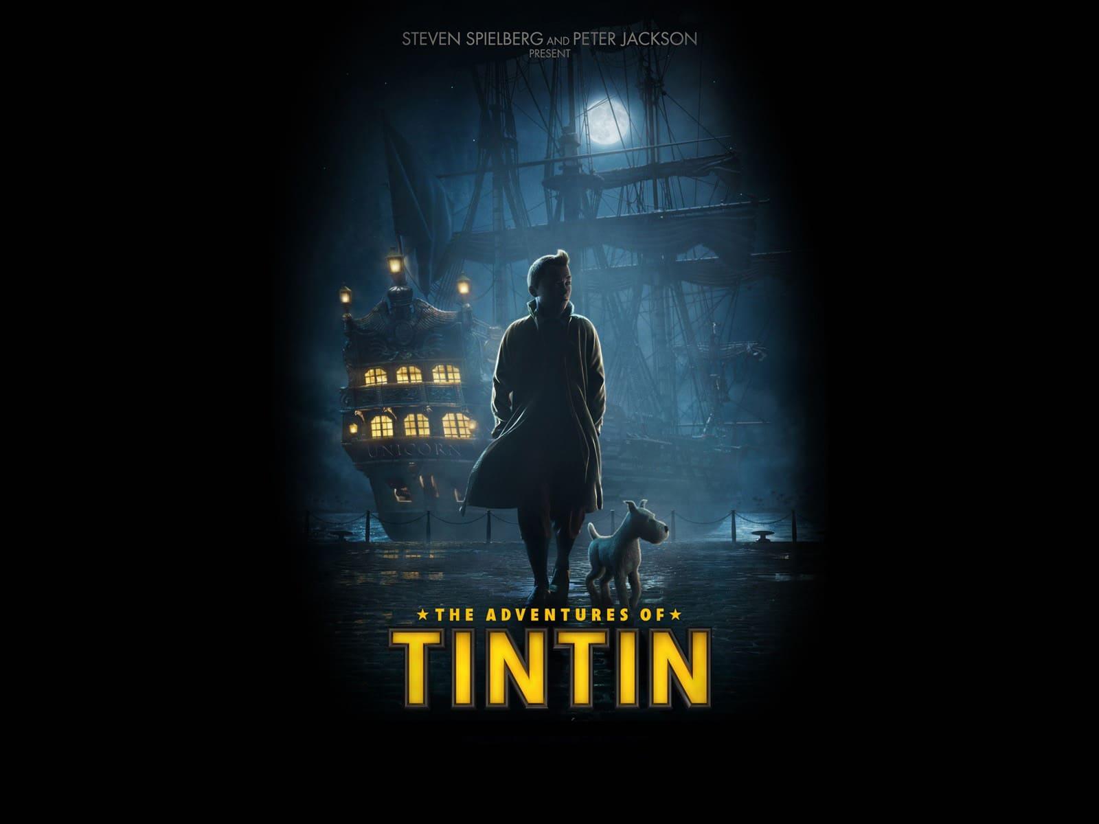 Fonds d 39 cran tintin le secret de la licorne t l charger - Tintin gratuit ...