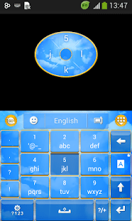 GO Keyboard Cielo