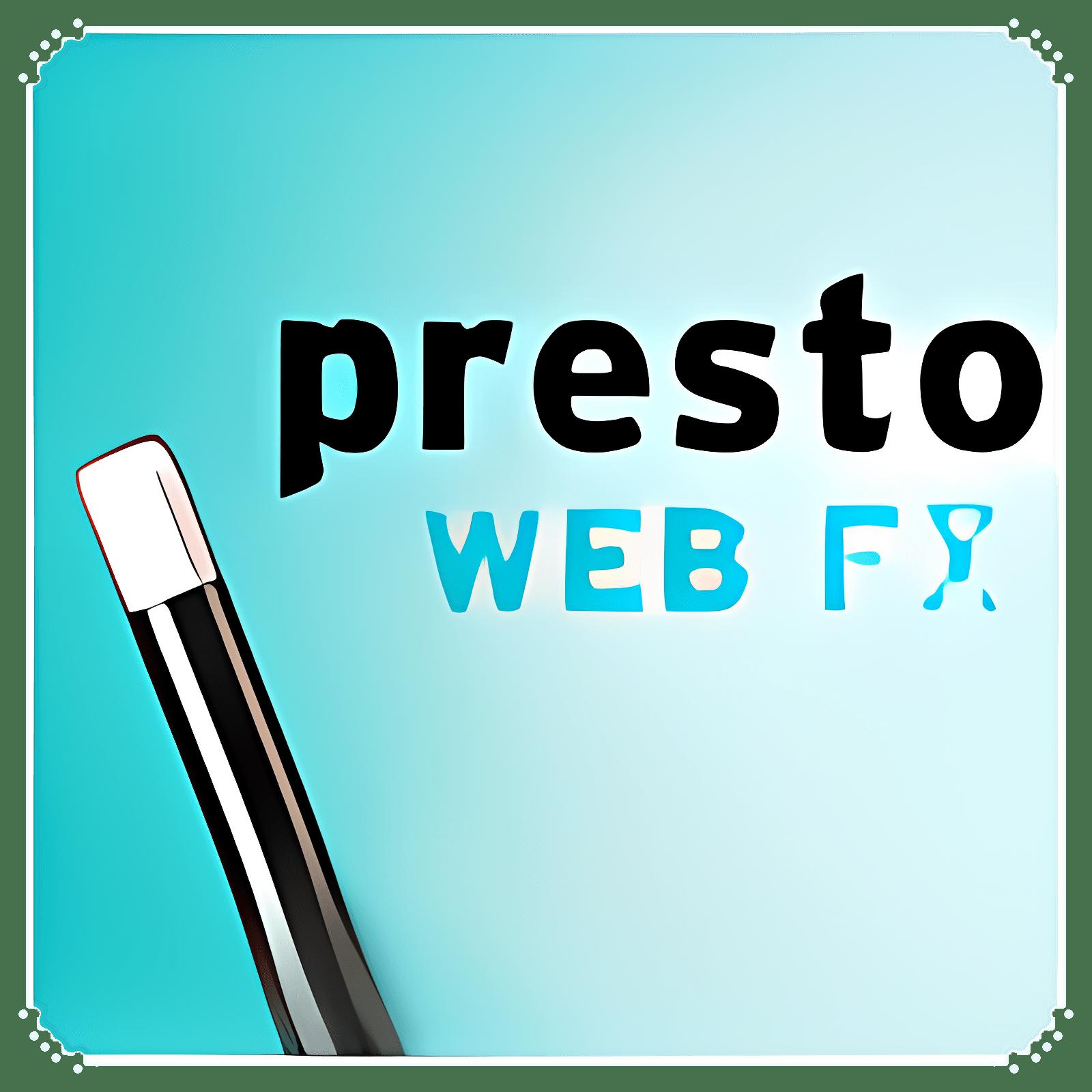 Presto Web FX 2.1