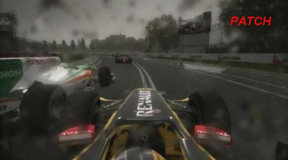Parche para F1 2010