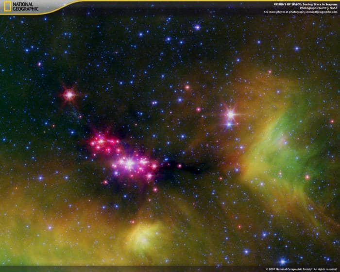National Geographic Visions of Space Screensaver