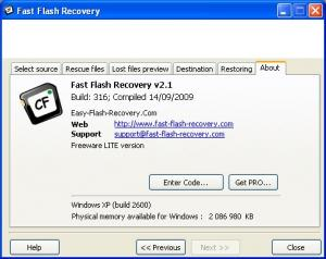 Fast Flash Recovery