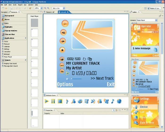 Carbide.ui S60 Theme Edition