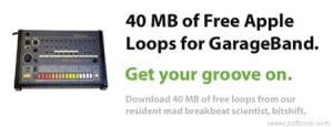 GarageBand Loops by Bitshift Audio