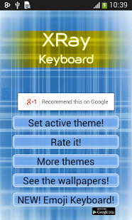 XRay teclado